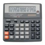Citizen Калькулятор SDC-660II двойное питание 16 разряда бухгалтерский черный
