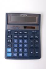 Citizen Калькулятор SDC-888XBL Blue - двойное питание