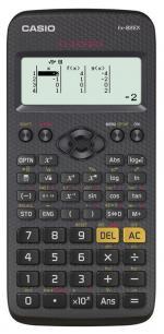 Калькулятор Casio Classwiz FX-82EX 10+2-разрядный Черный