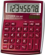 Калькулятор Citizen CDC-80RDWB красный